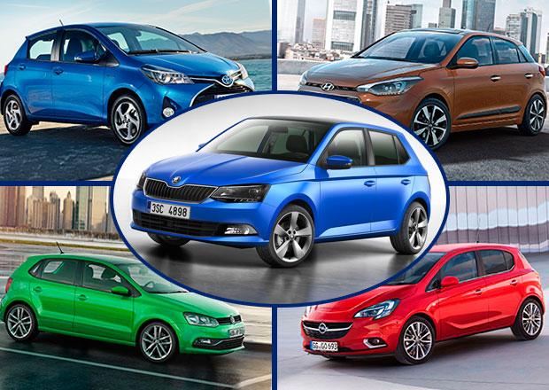 Škoda Fabia III vs. konkurence: Co koupit?