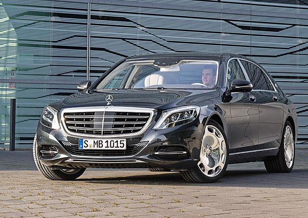 Luxusní Mercedes-Maybach S stojí minimálně 3,7 milionu korun
