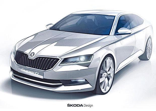 Škoda Superb 2015: Ve stopách studie Vision C