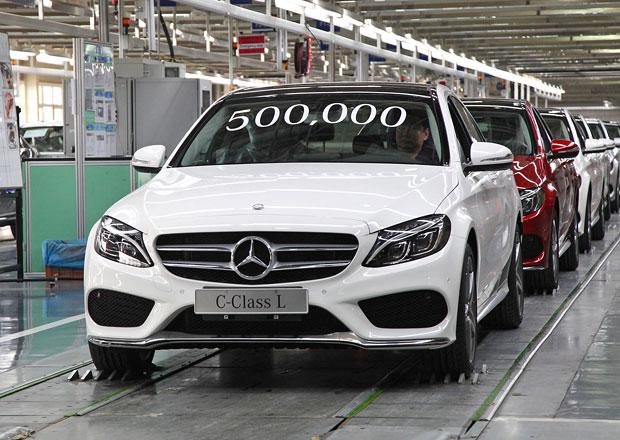 Mercedes-Benz slaví výrobní jubileum v Číně