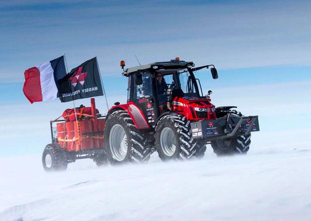 S traktorem k jižnímu pólu (+video)