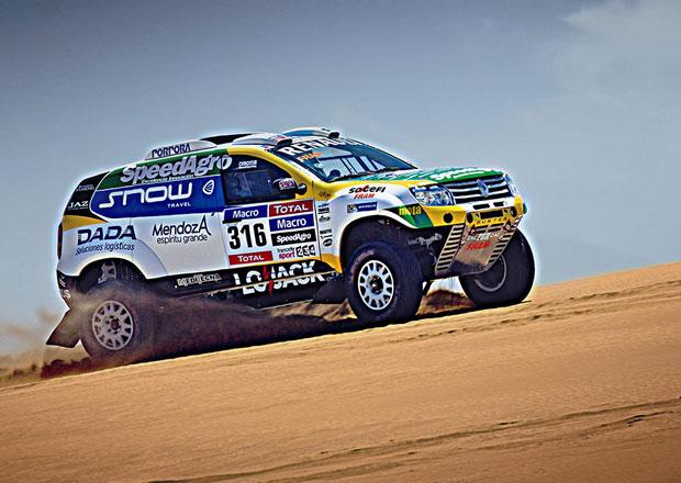 Renault Duster opět pojede Dakar, chce skončit mezi nejlepšími