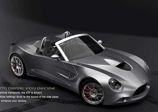 Puritalia 427: Italská variace na Shelby Cobra odhalena
