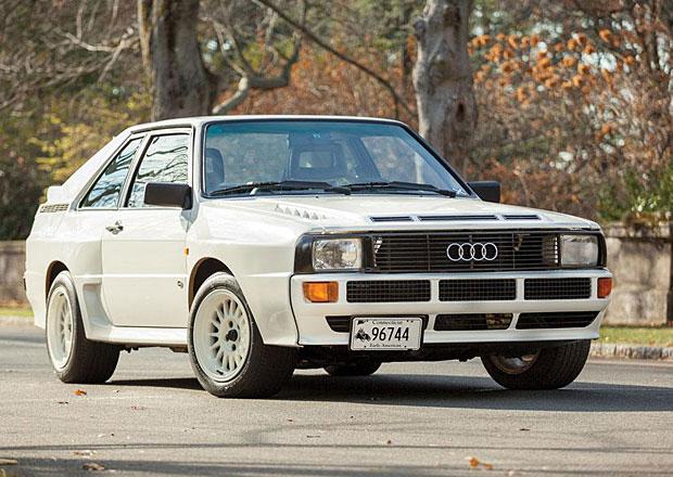 Audi Sport Quattro: Bílá soutěžní ikona na prodej