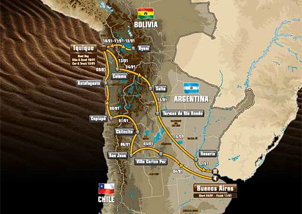 Dakar 2015: Kilometry pro odvážné