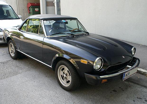Fiat si znovu registroval označení 124