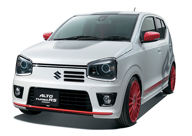 Suzuki Alto Turbo RS Concept: Kei supercar