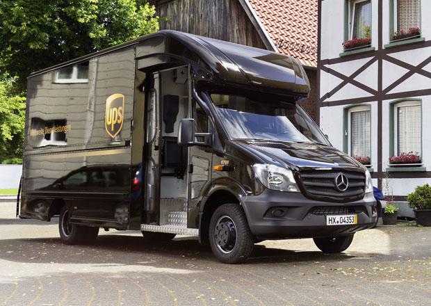 Mercedes-Benz Sprinter základem pro dodávky UPS