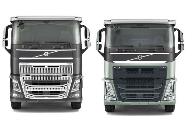 Volvo FH se sníženou výškou kabiny