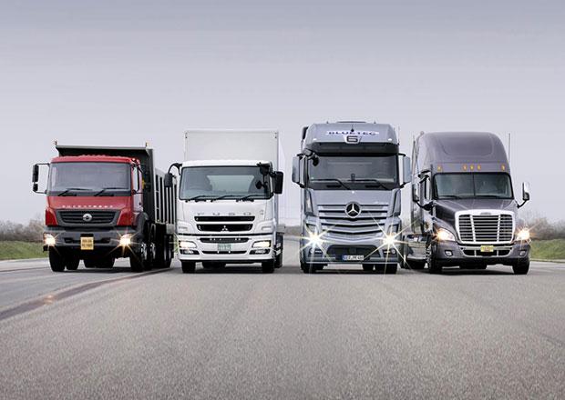 Daimler Trucks a rok 2014