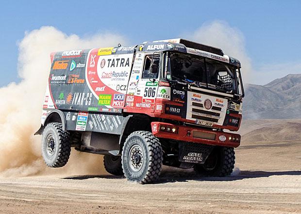 Rallye Dakar, 8. etapa: Loprais čtvrtý, Kolomý má překousnutý jazyk