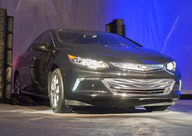 Chevrolet Volt 2016: Předpremiéra na výstavě elektroniky CES