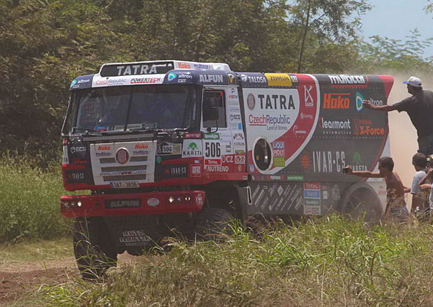 Rallye Dakar, 2. etapa: Kolomý porazil Lopraise