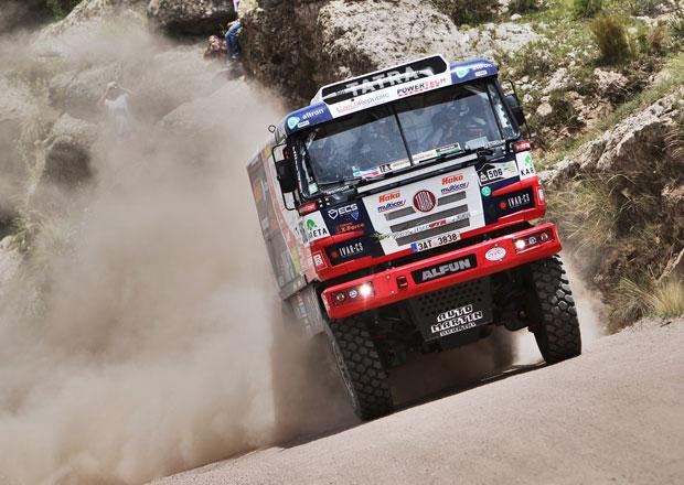 Rallye Dakar: Kolom� dostal penalizaci