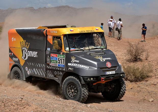 Rallye Dakar, 3. etapa: Překvapil nováček Walkner, Loprais celkově druhý