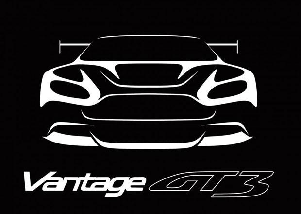 Vantage GT3: Nejextrémnější silniční Aston Martin bude mít přes 600 koní