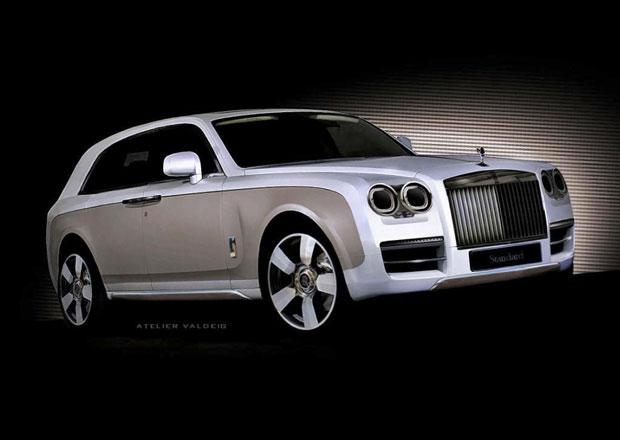 Rolls-Royce: Vůz třídy SUV ještě letos?