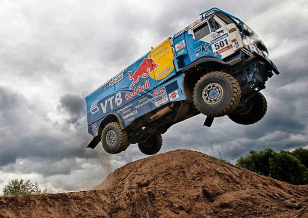 Rallye Dakar, 4.�etapa: Loprais �tvrt�, Kolom� zu�il a doh�n�l ztr�tu