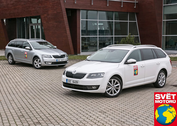 Škoda Octavia Combi 1.4 TSI G-Tec vs. 1.6 TDI GreenLine: Test spotřeby