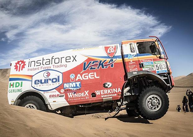 Rallye Dakar, 7. etapa: Poprvé se radoval Aleš Loprais