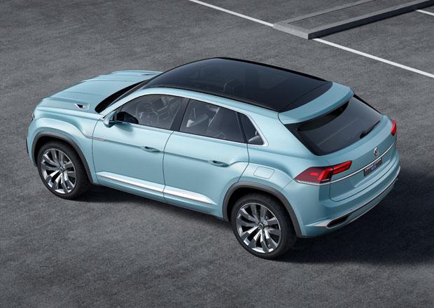 Volkswagen Cross Coupe GTE: Nové německé SUV na dosah