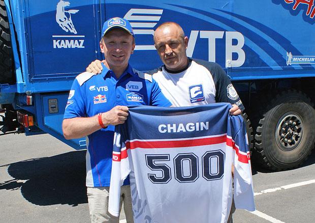 Rallye Dakar: Čagin dostal dárek od Koloce