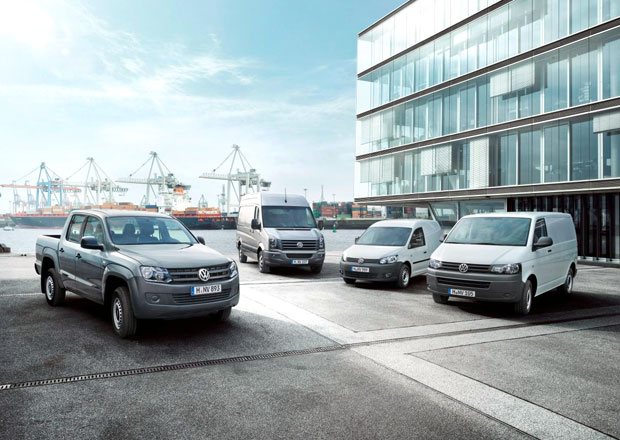 Volkswagen Užitkové vozy slaví úspěšný rok 2014