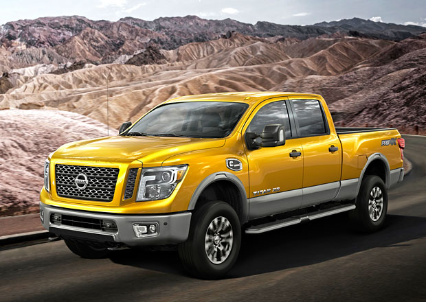Nissan Titan XD: Nová generace obřího pick-upu po dvanácti letech