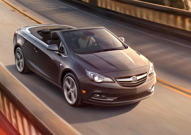 Opel Cascada pro americký trh dostal znáčky Buicku
