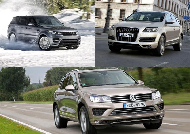 Luxusn� SUV s naftov�mi V8: Co koupit?