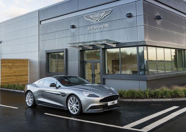 Aston Martin otev�el nov� v�vojov� centrum v Brit�nii