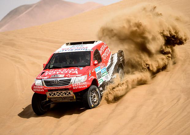 Rallye Dakar, 9.etapa: Rodrigues a Roma si spravili chuť do závodění