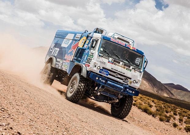 Rallye Dakar, 10.etapa: Loprais snížil ztrátu na 3.místo