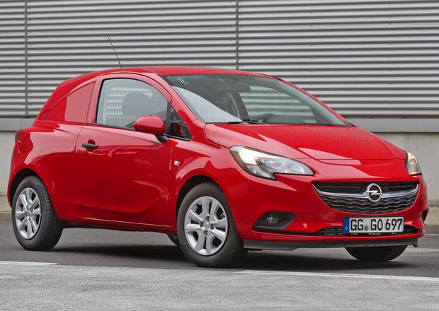 Opel Corsavan: Užitkový hatchback v novém