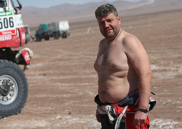 Rallye Dakar, 11. etapa: Kolom� porazil Lopraise