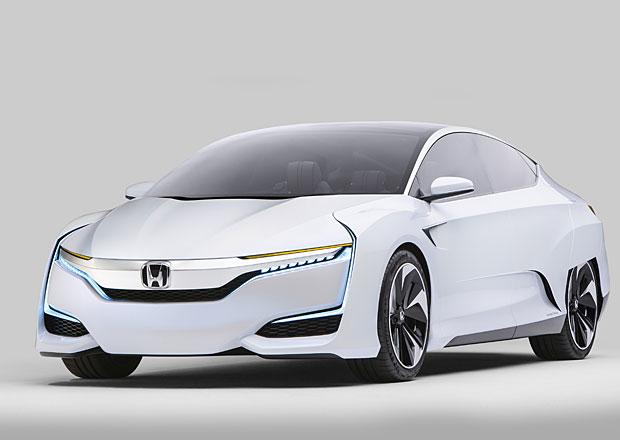 Honda FCV Concept: Vodíkové auto nemusí být ošklivé. Ani uvnitř...