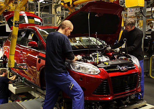 Ford zvýší kvůli poptávce výrobu vozů Fiesta, Focus a C-Max