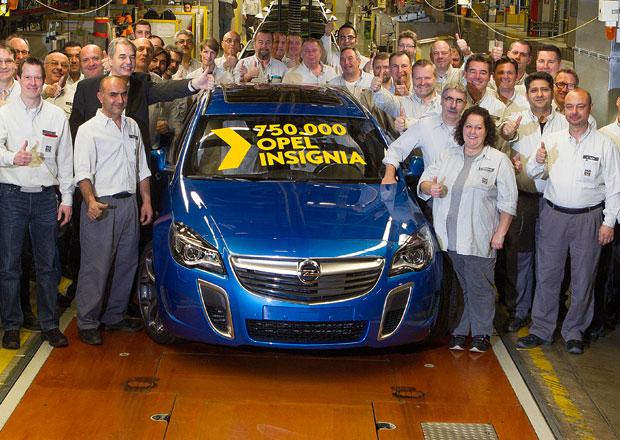 Opel Insignia: Meta 750.000 vyrobených kusů pokořena