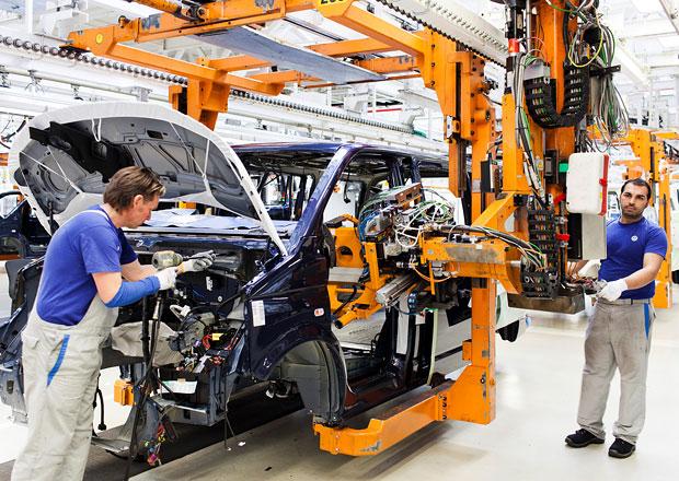 Produkce Volkswagenu T5 běží v Hannoveru na plné obrátky