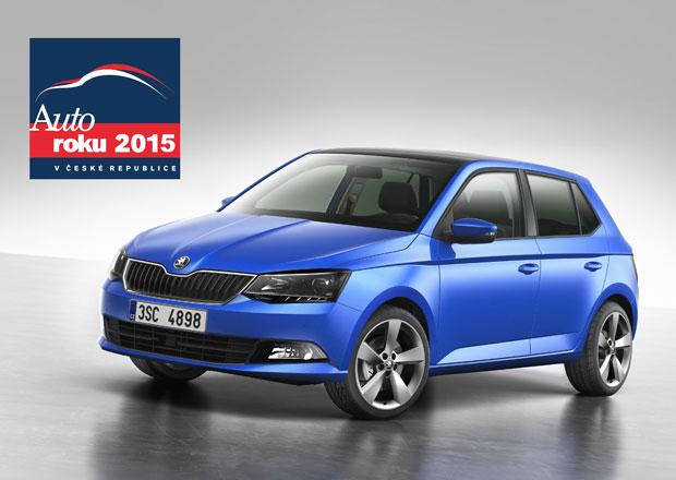 Autem roku 2015 v České republice se stala Škoda Fabia!
