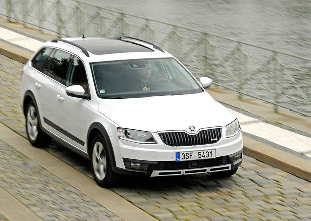Evropský trh v roce 2014: Škoda Octavia je osmým nejprodávanějším autem