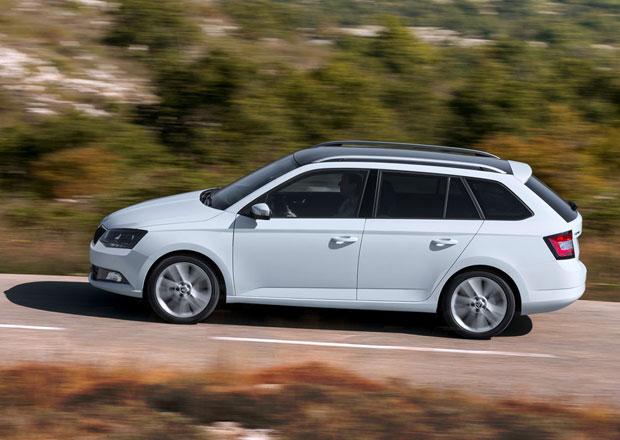 Škoda dnes začala prodávat Fabii Combi, ceny startují na 262.900 Kč