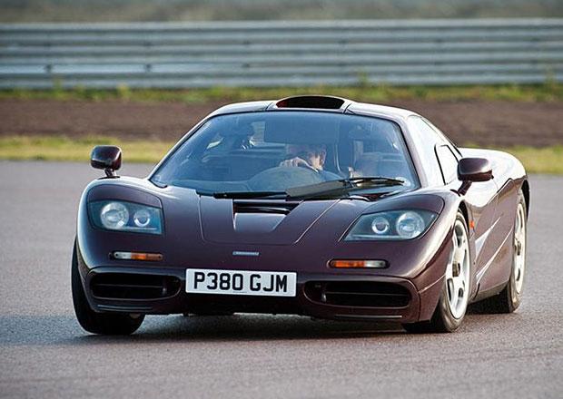 Rowan Atkinson prodává svůj McLaren F1