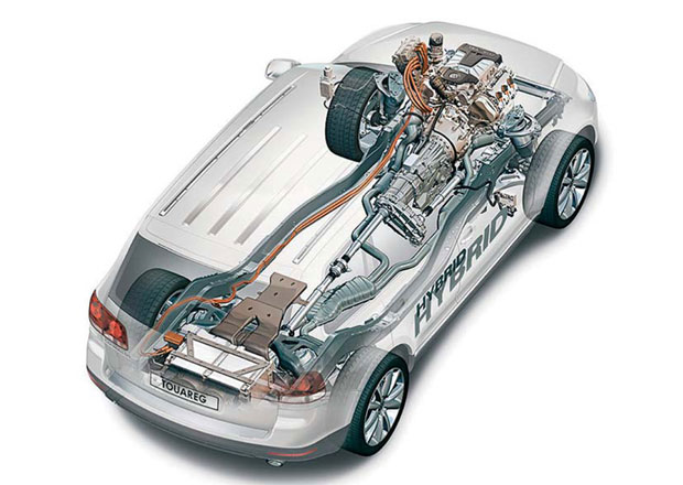 Volkswagen Touareg Hybrid: Spojuje benzin s elektrikou