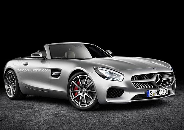 Mercedes-AMG GT Roadster: Možná podoba verze bez střechy