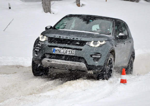 Land Rover Discovery Sport: Jízdní dojmy z Rakouska