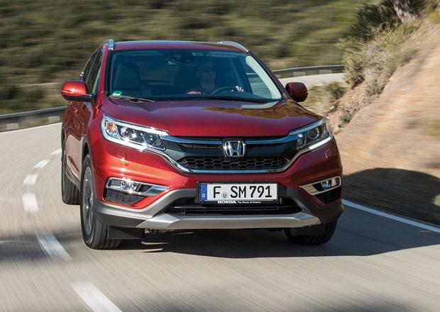 Příští Honda CR-V bude soupeřit s luxusními SUV, dorazí v roce 2017