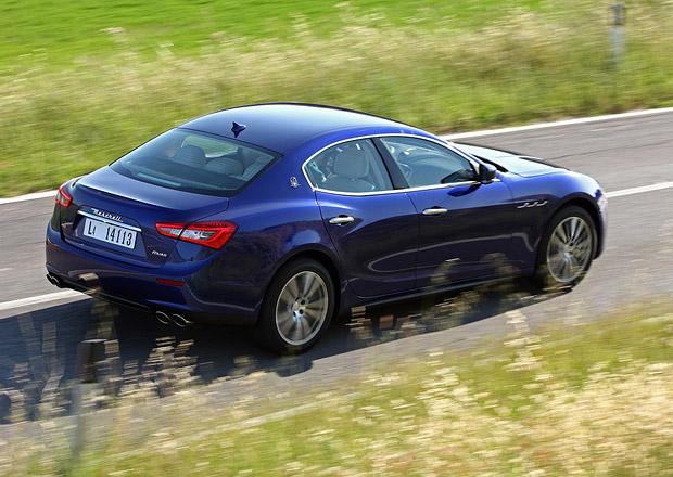 Operativní leasing podle Maserati: Ghibli Diesel za 28.000 Kč měsíčně