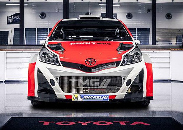 Potvrzeno: Toyota se v roce 2017 vrátí do WRC s Yarisem