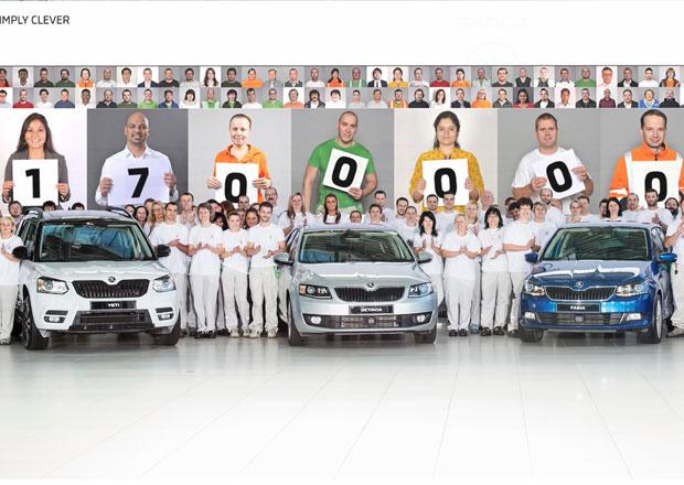 Škoda Auto slaví: Od roku 1905 postavila 17 milionů aut